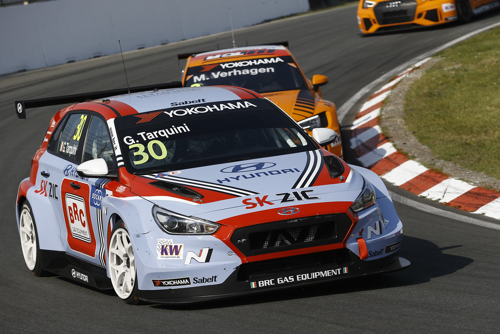 30 TARQUINI Gabriele, (ita), Hyundai i30 N TCR team BRC Racing, action during the 2018 FIA WTCR World Touring Car cup of Zandvoort, Netherlands from May 19 to 21 - Photo Jean Michel Le Meur / DPPI