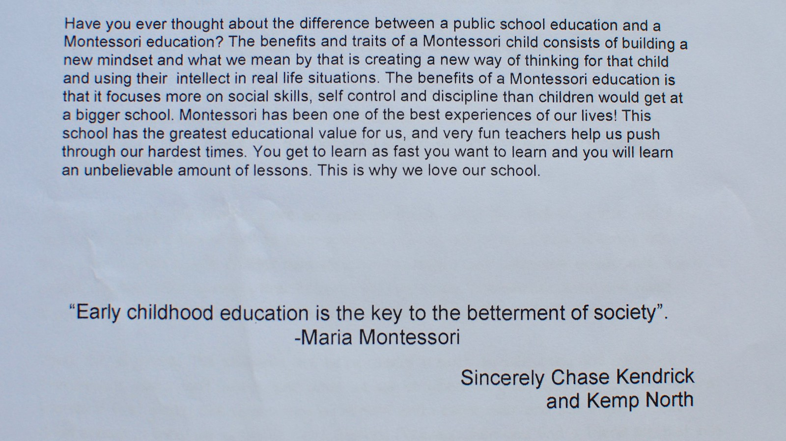 i love my school essay