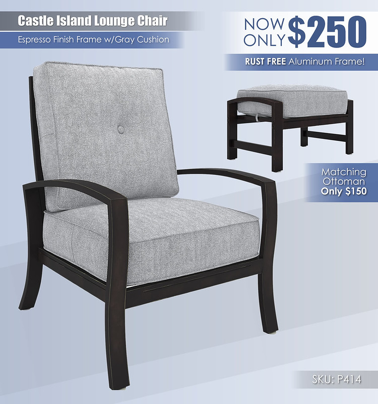 Castle Island Lounge Chair_P414