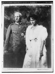 Prince Rupprecht (Bavaria) & Antonie of Luxemburg (LOC)