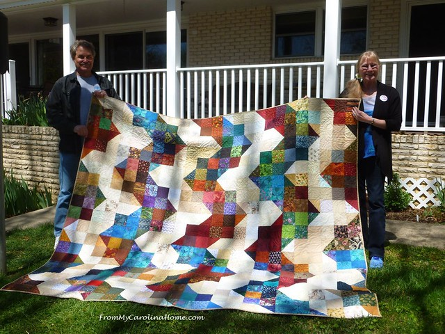 California Fire Quilt Delivery at From My Carolina Home