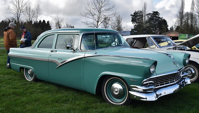 1956 Ford Fairlane Club Sedan