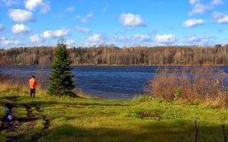 Kerligesh river, Western Syberia