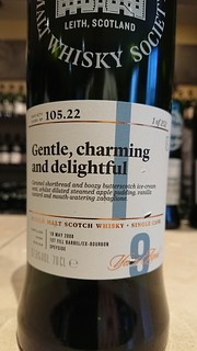 SMWS 105.22 - Gentle, charming and delightful