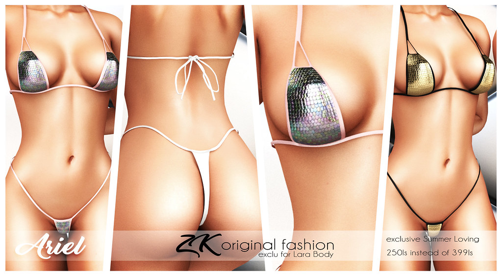 -:zk:- Ariel swimsuit SPECIAL PRICE FOR SUMMER LONVING HUNT
