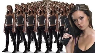Summer Glau TSCC Cameron army looking you