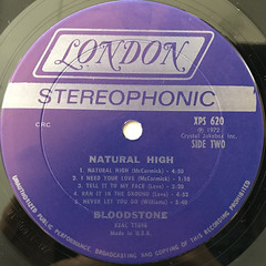 BLOODSTONE:NATURAL HIGH(LABEL SIDE-B)