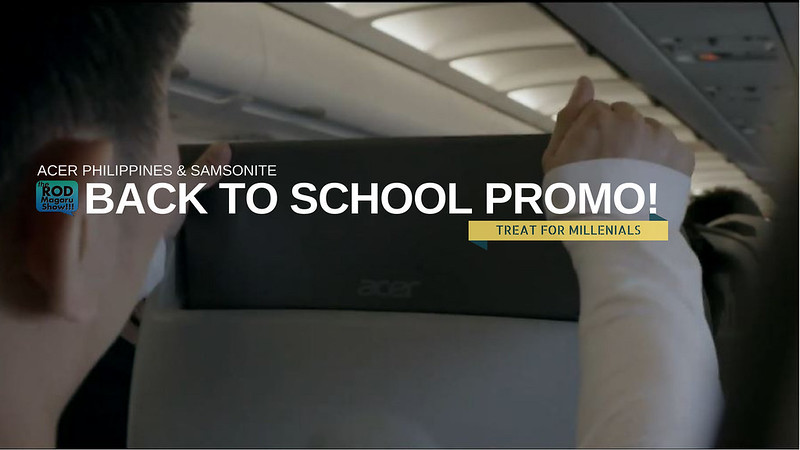 ACER SAMSONITE BACK TO SCHOOL PROMO 2018