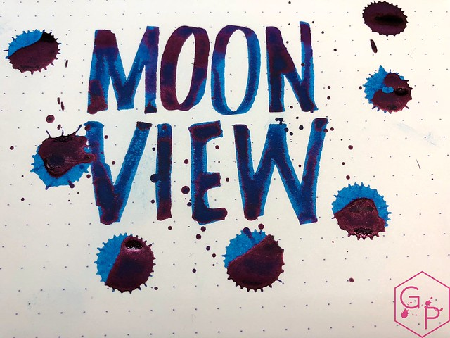 Krishna Inks Moonview Fountain Pen Ink Review @PenChalet 12