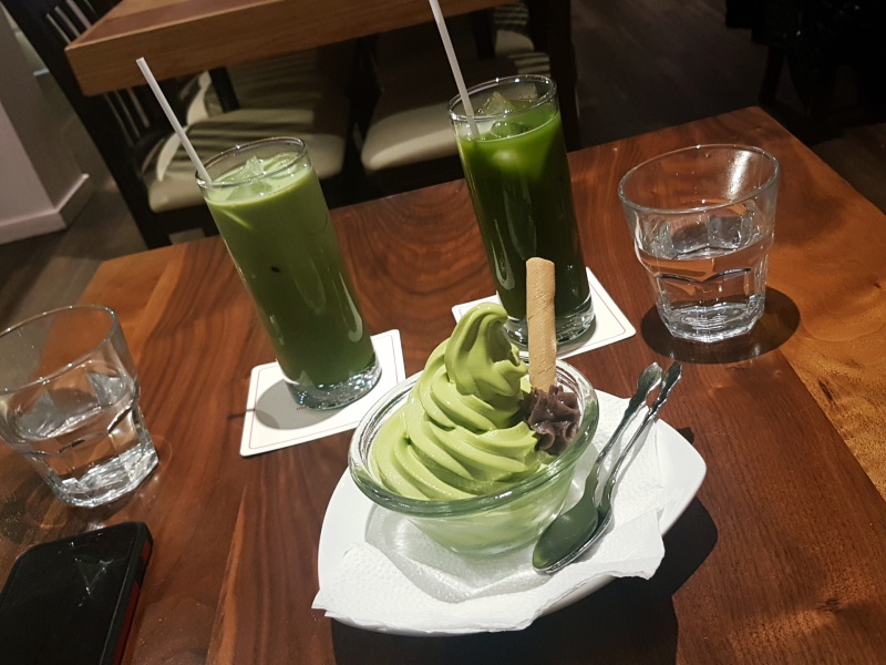 Uncle Tetsu Angel Cafe matcha