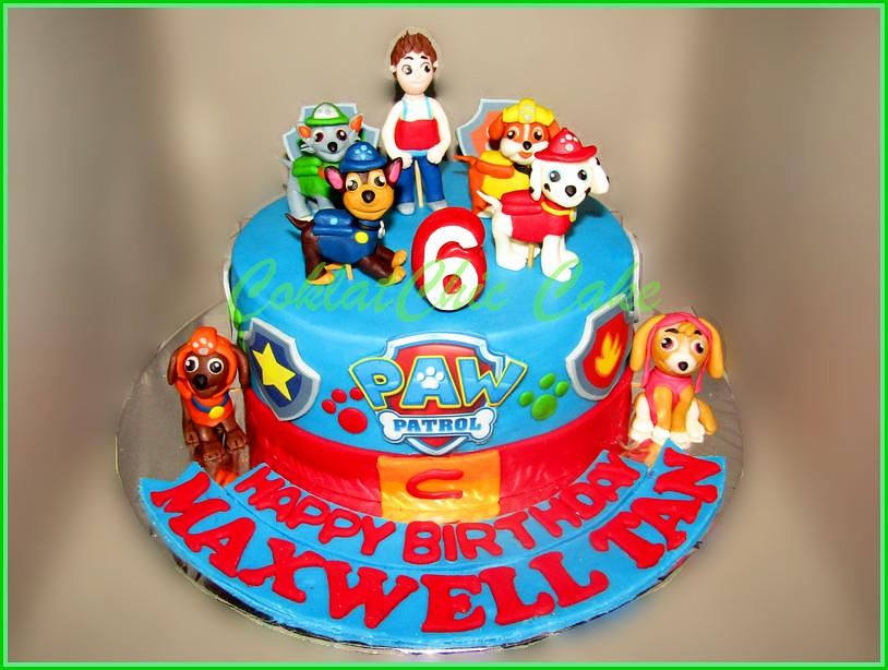 Cake Paw Patrol MAXWELL20 cm