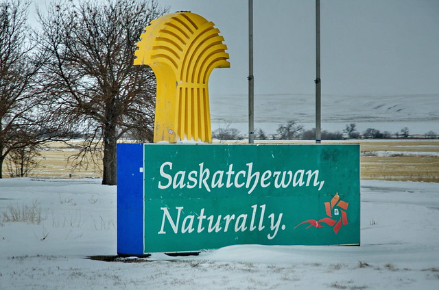 Saskatchewan Naturally Sign