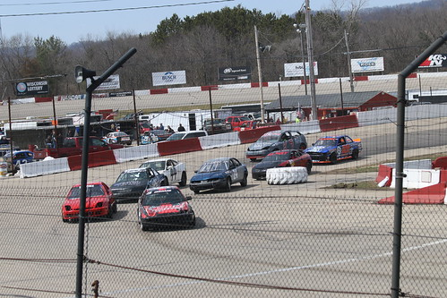 4.22.18 La Crosse Fairgrounds Speedway - My First Quarter Mile race here