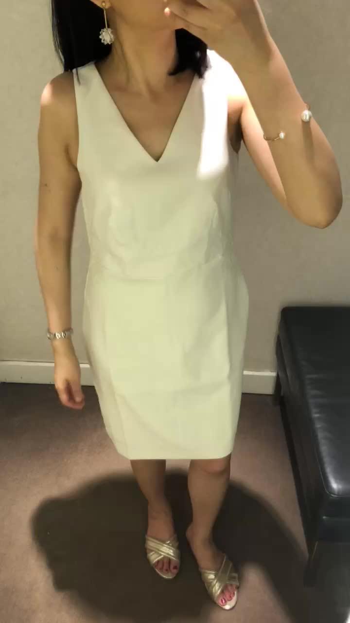 Ann Taylor Laser Cut Floral Sheath Dress, size 0P