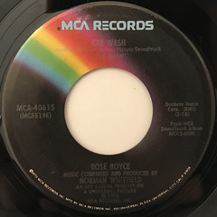 ROSE ROYCE:CAR WASH(LABEL SIDE-A)