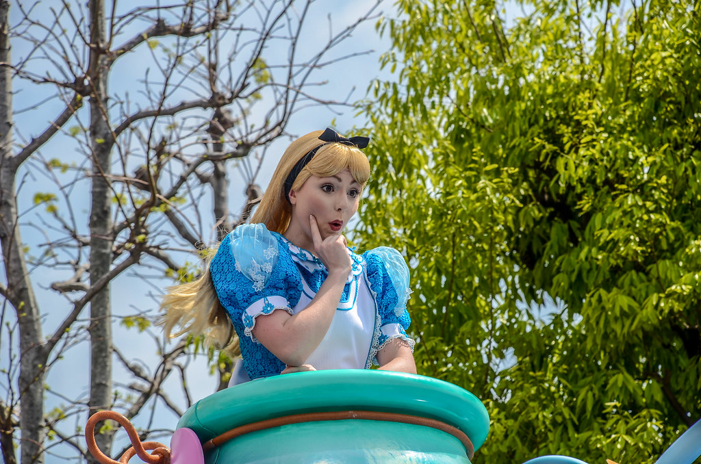 Alice up close Dreaming Up TDL