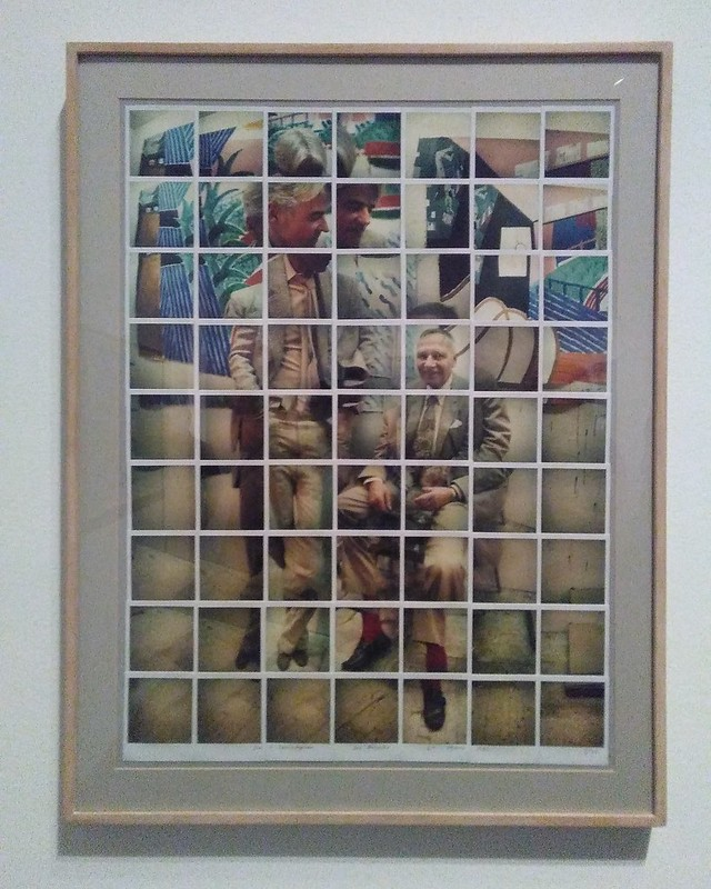 Don + Christopher, Los Angeles, 6th March 1982 #newyorkcity #newyork #manhattan #metmuseum #davidhockney #hockney #christopherisherwood #donbachardy #polaroid #mosaic #latergram