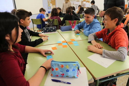 Taller a l'Escola Segimon Comas de Sant Quirze de Besora