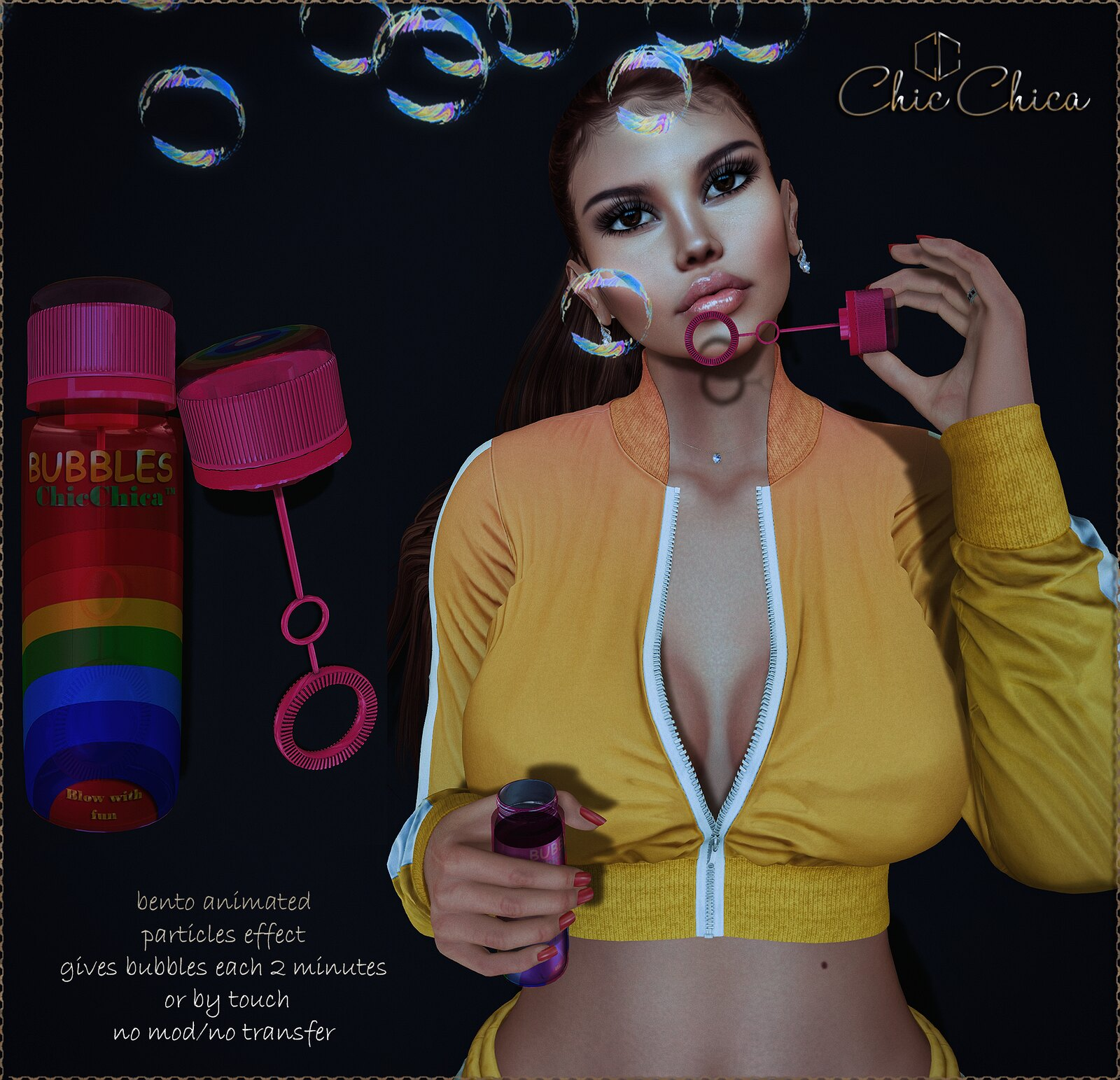 Bubbles by ChicChica OUT@ Cosmopolitan