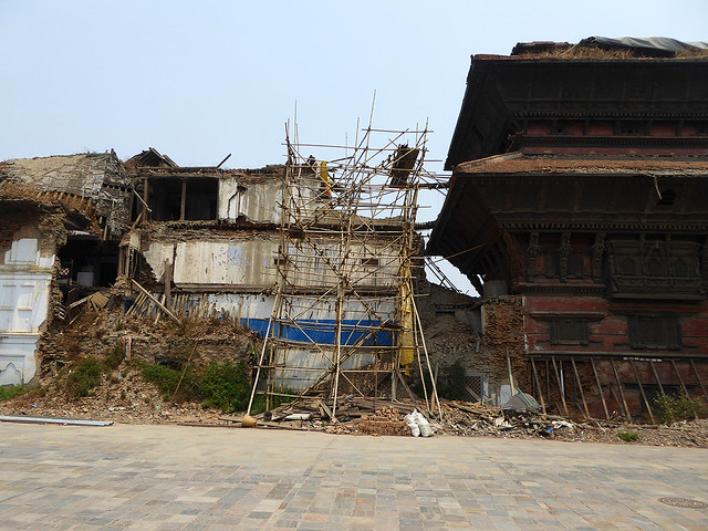 Many historic and notable buildings were severely damaged during the 2015 Nepalese earthquake