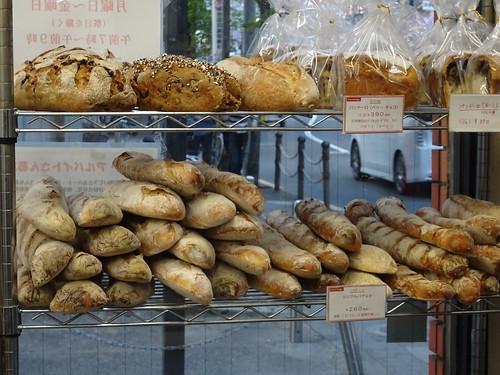 ブランジェリーケンのハード系パン