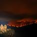 Mount Solitary Ablaze