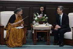 05.09 副總統接見國際環境及女權倡議人士席娃博士