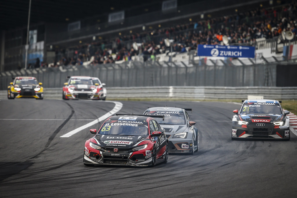 63 LESSENNES Benjamin (BEL), Boutsen Ginion Racing, Honda Civic TCR, action during the 2018 FIA WTCR World Touring Car cup of Nurburgring, Nordschleife, Germany from May 10 to 12 - Photo Francois Flamand / DPPI