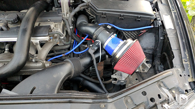 Volvo S80 2.4T Fitting a Velocity Stack Open Cone Filter