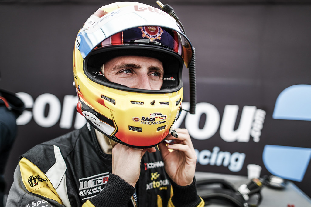 LESSENNES Benjamin (BEL), Boutsen Ginion Racing, Honda Civic TCR, portrait during the 2018 FIA WTCR World Touring Car cup of Nurburgring, Nordschleife, Germany from May 10 to 12 - Photo Florent Gooden / DPPI