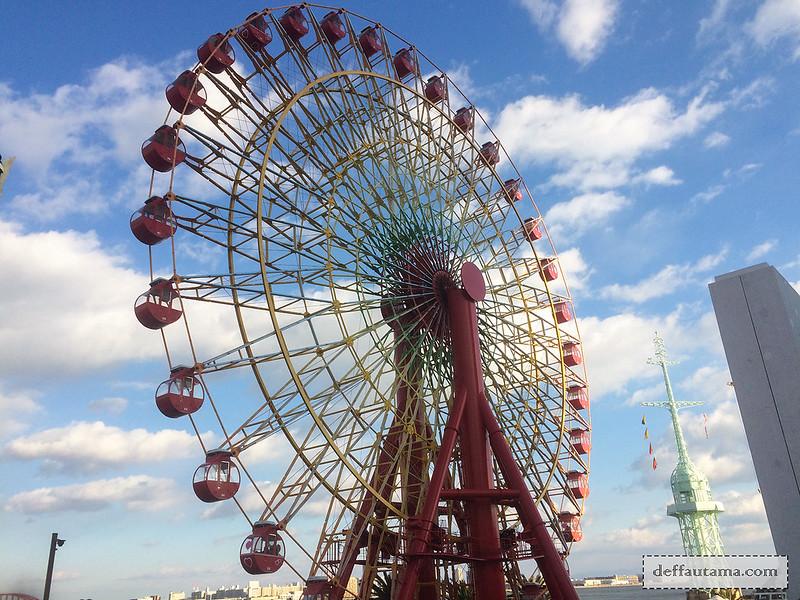 9 Hari Babymoon ke Jepang - Mosaic Big Ferris Wheel