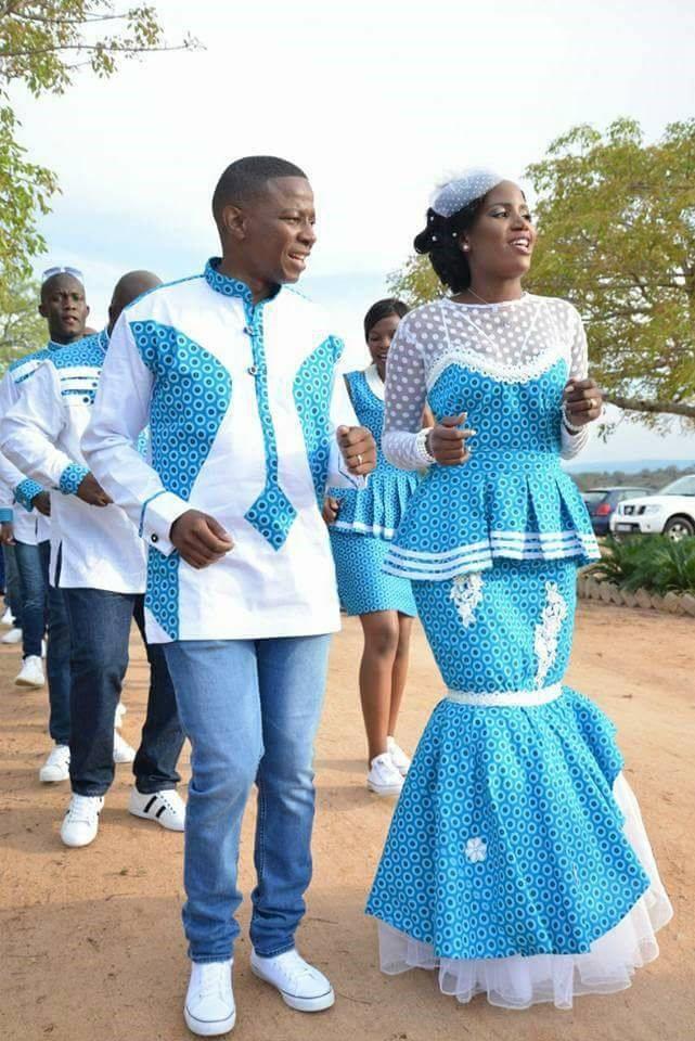 Traditional Shweshwe Wedding Dresses 2019