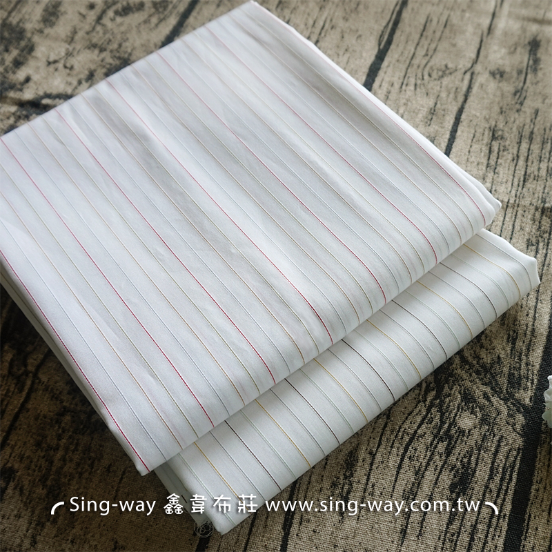 條紋 (震撼價) 直條 制服襯衫 服裝布料 FC690152
