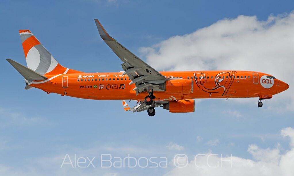 PR-GTM GOL Transportes Aéreos Boeing 737-8EH(WL) - GRU