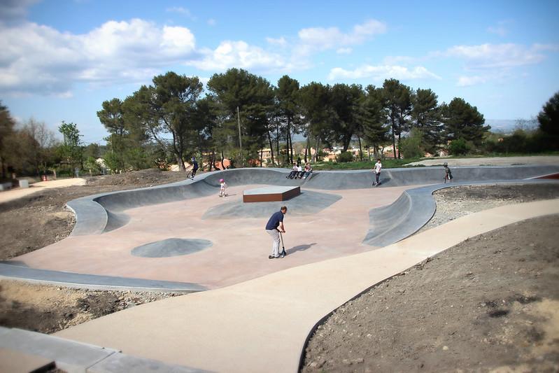 Ouverture du skate-park