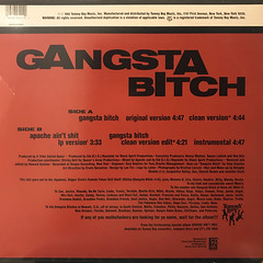 APACHE:GANGSTA BITCH(JACKET B)