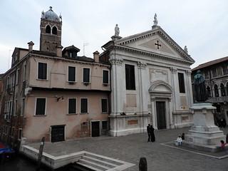 Obraz Sarpi. venice church