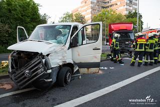 Verkehrsunfall 2.Ring/Klarenthaler Straße 09.05.18