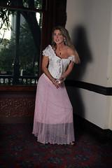 Pink Dress and Crystal Ball