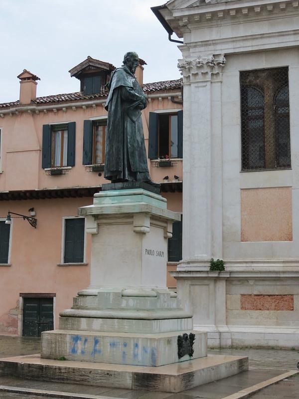 Monumento a Paolo Sarpi in Campo Santa Fosca<br /> IMG_2650
