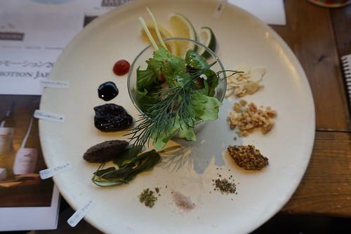 グレープフルーツのシーフード・サラダ