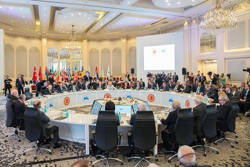 16.05.2018 Summitul speakerilor statelor membre ale Organizației Cooperării Economice la Marea Neagră