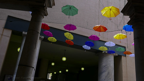 Ombrelli a Genova