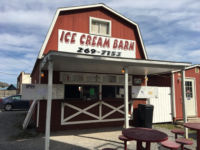Ice cream barn