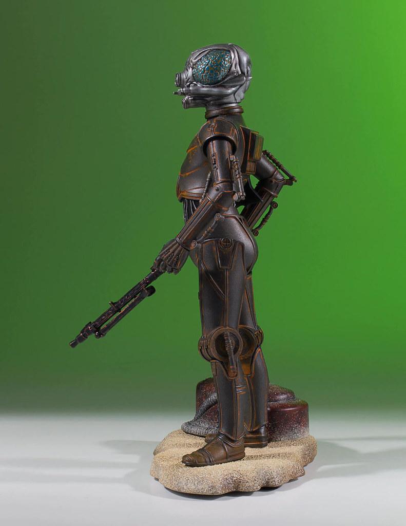冷門的賞金獵人再一發!!Gentle Giant Collector's Gallery 星際大戰【4-LOM】1/8 比例全身雕像作品