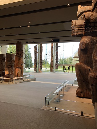 totems at Museum of Anthropology