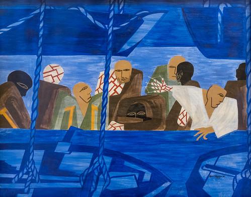 Jacob Lawrence, War Series: Going Home, 1947 1/15/18 #whitneymuseum