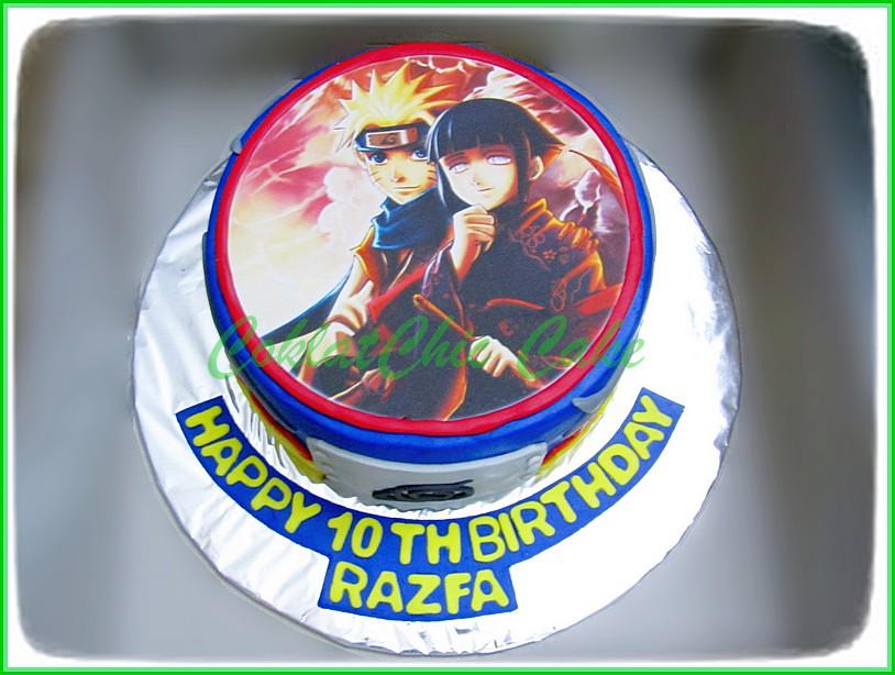Cake Edible Image Naruto RAZFA 18 cm