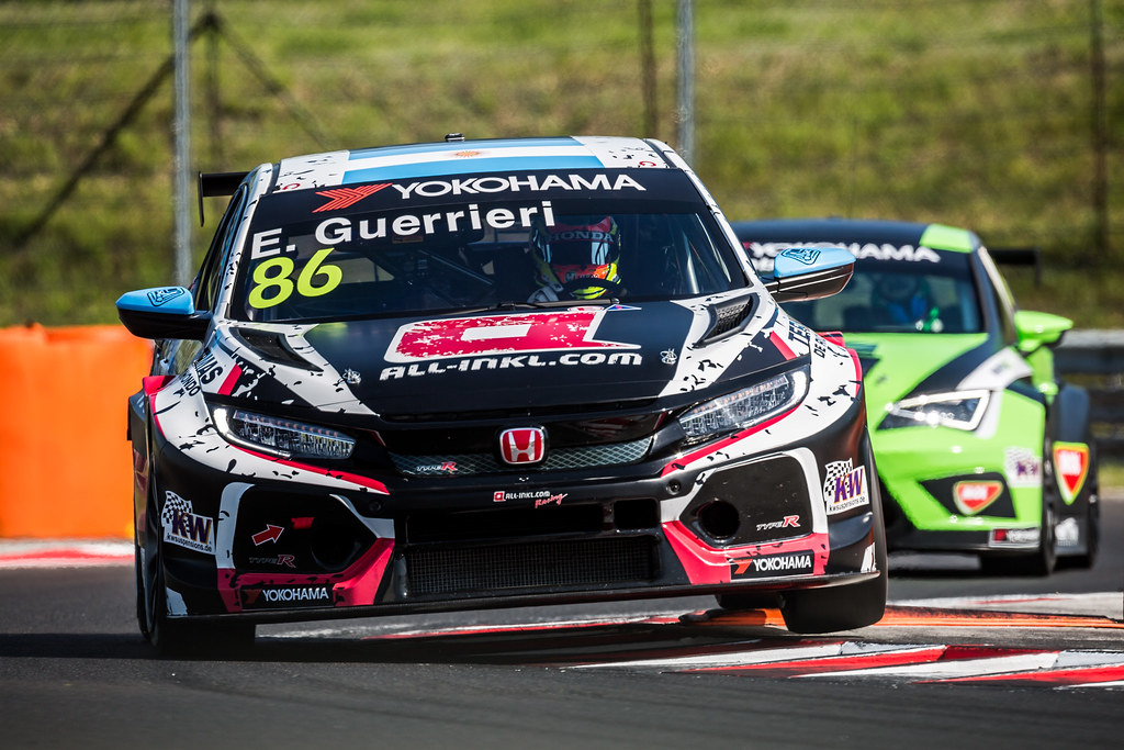 86 GUERRIERI Esteban (ARG), ALL-INKL.COM Munnich Motorsport, Honda Civic TCR, action during the 2018 FIA WTCR World Touring Car cup, Race of Hungary at hungaroring, Budapest from april 27 to 29 - Photo Thomas Fenetre / DPPI