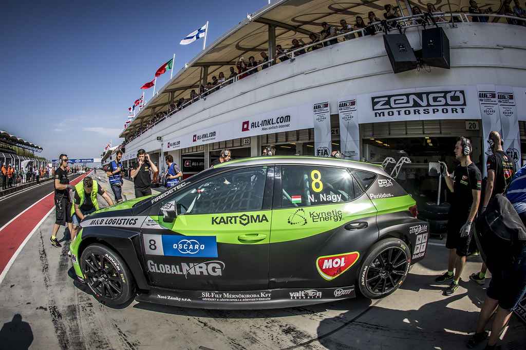 08 NAGY Norbert (HUN), Zengo Motorsport, Cupra TCR, action during the 2018 FIA WTCR World Touring Car cup, Race of Hungary at hungaroring, Budapest from april 27 to 29 - Photo Gregory Lenormand / DPPI